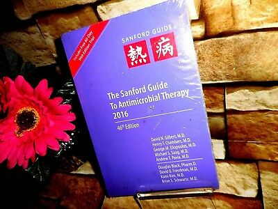 NEW Sanford Guide to Antimicrobial Therapy 46th Edition 2016 by David Gilbert MD