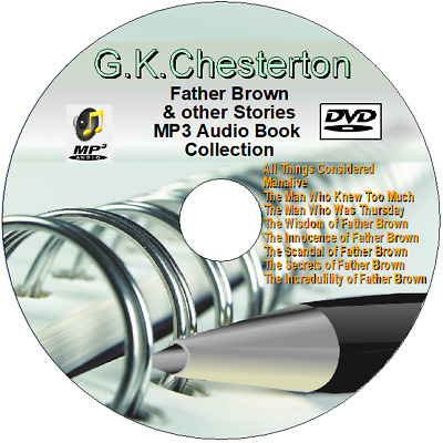 Father Brown & other Stories by G.K.Chesterton MP3 Audio Books DVD MP3