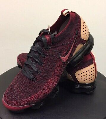 Nike Air Vapormax Flyknit 2 NRG Team Red Black AT8955-600 Size 9 LIMITED