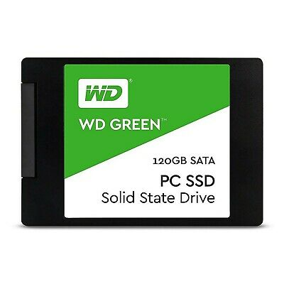 Western Digital SSD 120GB SATA III 3D NAND Internal Solid State Drive SSD 120 GB
