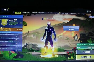 Fortnite Account 70 Skins + Mako + Galaxy Set + RDW