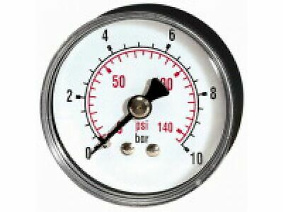 PRESSURE LINE Standardmanometer G 1/4 rücks. ¢ 63 mm 0-10 bar   217-DE