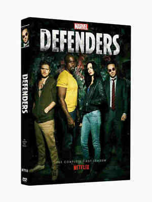 The Defenders Season 1 One (2-Disc DVD) Marvels Box Set, US Seller Fast Shipping