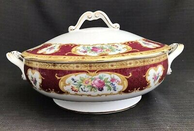 Royal Albert - Lady Hamilton - Tureen & Cover - 1st Quality