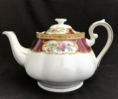 Royal Albert - Lady Hamilton - Large Tea Pot - 2nd Quality