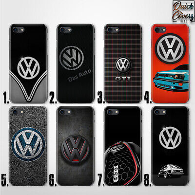 Vw Gti Golf Logo Thin Uv Case Cover For Iphone