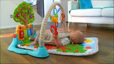 VTech Playmat Baby Mat Glow n Giggle Playmat and Play Gym 6 musical Songs ,G