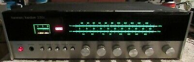 Harman Kardon 330c Vintage AM/FM Stereo Receiver Nice Sound Works But No Phono