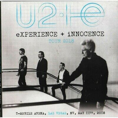 U2  -  Live at t-mobile arena las vegas us 2018 experience + innocence tour 2cd