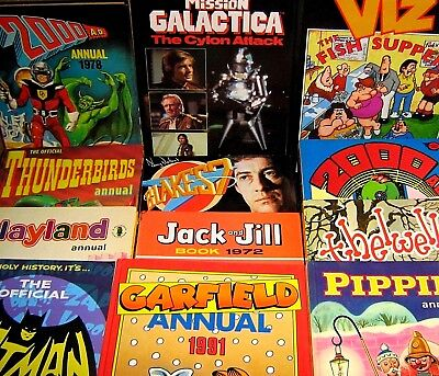 COLLECT COMIC ANNUALS  & OTHER PUBLICATIONS - click SELECT to browse or order