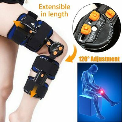 1e486c6de2 HINGED ADJUSTABLE KNEE Brace Support Stabilizer Immobilizer - $63.00 ...