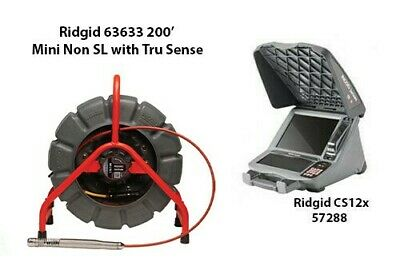 Ridgid 200' Mini Reel Non SL with Tru Sense (63633) CS12x (57288)