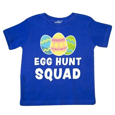 6b1710d6ac95 Inktastic Egg Hunt Squad With Easter Eggs Toddler T-Shirt Hunting Happy  Spring