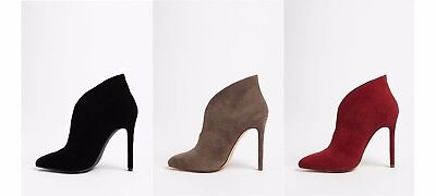 8947fd2f69b NWT FOREVER 21 Ankle Boots Size 6 Colors Red,Black,Brown Stiletto Clubwear  Sexy
