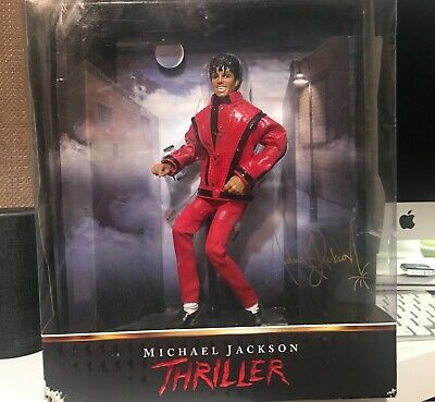 Michael Jackson 10 inch Fully Articulating collectable Thriller Doll Boxed