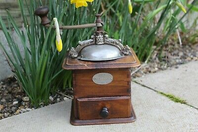 Antique/Vintage French Coffee Grinder by Japy Freres Cie Beaucourt Paris Working