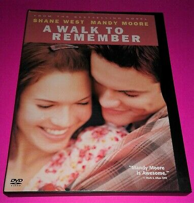 A Walk to Remember (Mint Condition DVD) Mandy Moore + With Free Shipping Fast