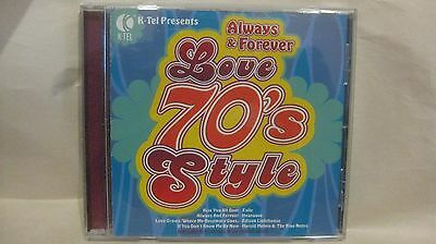 Love 70's Style Always & Forever K-Tel 2006 BCI Eclipse Company cd1927