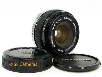 Olympus Om Zuiko Auto W 28Mm F3.5 Wide Angle Lens *Excellent Condition*.