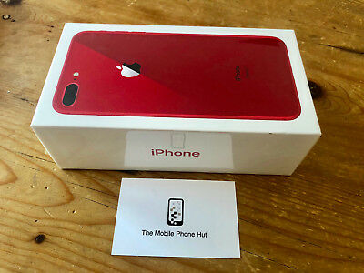 NEW SEALED Apple iPhone 8 PLUS 256GB A1897 RED (UNLOCKED) 1 YEAR APPLE WARRANTY