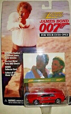 James Bond 007 For Your Eyes Only Die Cast Johnny Lighting Car Replica TYC