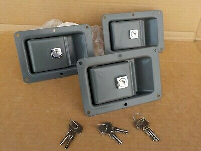 3 x Door Lock for Liebherr construction machinery All Locks Key Number 706