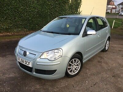 Volkswagen Polo 1.4 tdi  Bluemotion 2, 58 Reg, VW & 1 Lady Owner From New, S/H