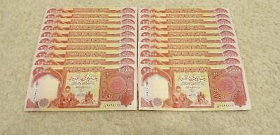 500,000 Iraqi Dinar (20 x 25,000 notes) New Uncirculated IQD