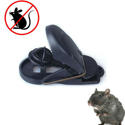 Snap Mouse Trap Plastic Bait Mice Rat Catching Reusable Sensitive Catcher Spring
