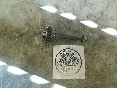 1985 Yamaha Maxim Xj750X Water Pump Drive Gear And Shaft