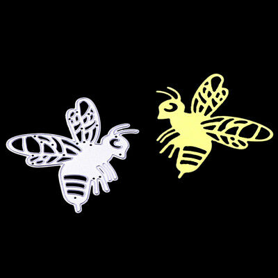 Bee Metal Cutting Dies Stencil Scrapbooking Card Paper Embossing Craft EBAU