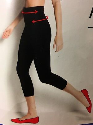 5793ef51ad1810 NEW!! ASSETS SPANX Cropped Shaping Leggings SH2015 ~ Black - $24.50 ...
