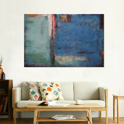 Abstract Hand Painted Oil Painting Stretched Canvas Wall Art Home Decor - Framed
