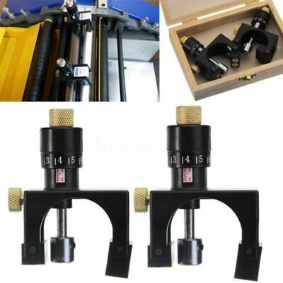 4X(2X Adjustable Planer Blade Cutter Calibrator Setting Jig Gauge Woodwork C2Z1)
