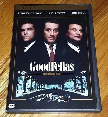 GOODFELLAS 2-Disc Special Edition DVD Scorcese DeNiro Liotta Pesci Hank Hill Mob