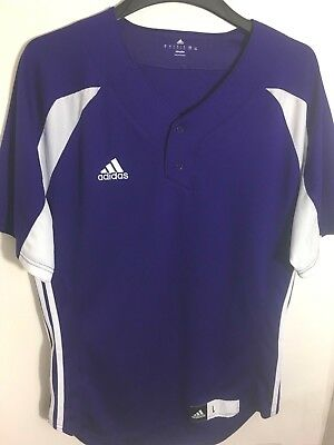65151022a63 ADIDAS Jersey Shirt Purple Women s Size Large