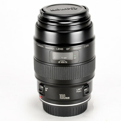 Canon EF 100mm f/2.8 Macro Non USM Lens from Japan << Excellent >> 1421