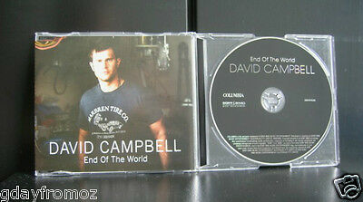 David Campbell - End Of The World 4 Track CD Single