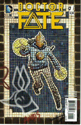 Doctor Fate #1 NM 1st Appearance Khalid Nassour Dr. Fate DC Movie Opted 2015
