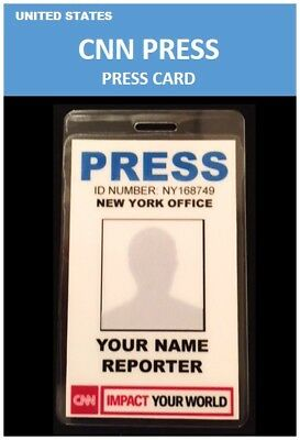 international ID collection...UNITED STATES...Vertical Card...<<CNN>>