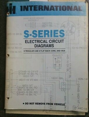 on ihc truck wiring diagrams