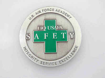 U.s. Air Force Academy Safety Challenge Coin