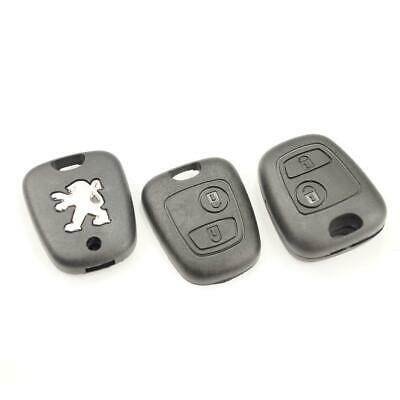 Peugeot 106 206 207 306 307 406 806 2 Buttons Housing Key Cover