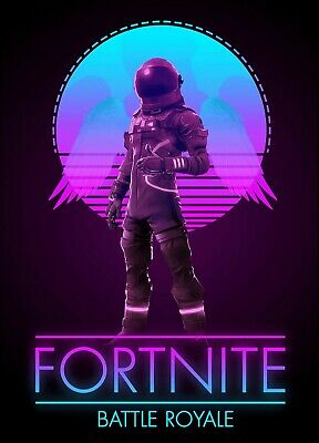FORTNITE Battle Royale Game Poster - Dark Voyager - 11x17 - 13x19