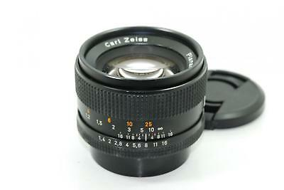 【EXCELLENT+++++】CONTAX CARL ZEISS Planar T* 50mm F1.4 AE YASHICA From JAPAN YG