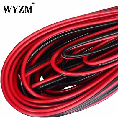 Flexible Black Red Extension Cable Wire Cord  for Led Resistant Electric Wire