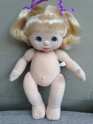 My Child Doll ~ Peachy Blonde DR Pony Tails ~ Blue/Pink ~ Lovely Doll  ~ Naked