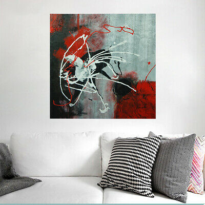 Hand-painted Abstract Oil Painting On Canvas Modern Wall Art Home Decor Framed