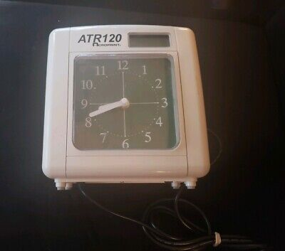 Business & Industrial Time Clocks & Supplies Acroprint Atr120 Time Recorder; Damaged Buttons; Untested With Time Cards