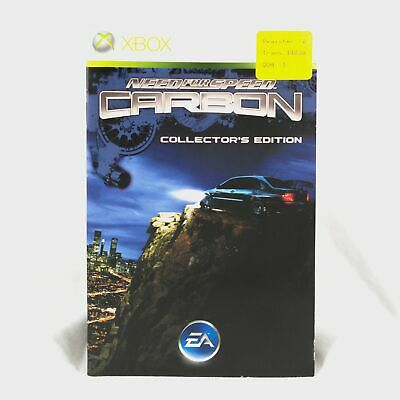 Need For Speed Carbon - Collectors Edition Xbox 360 Manual